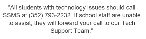 Distance Learning | Tech Support