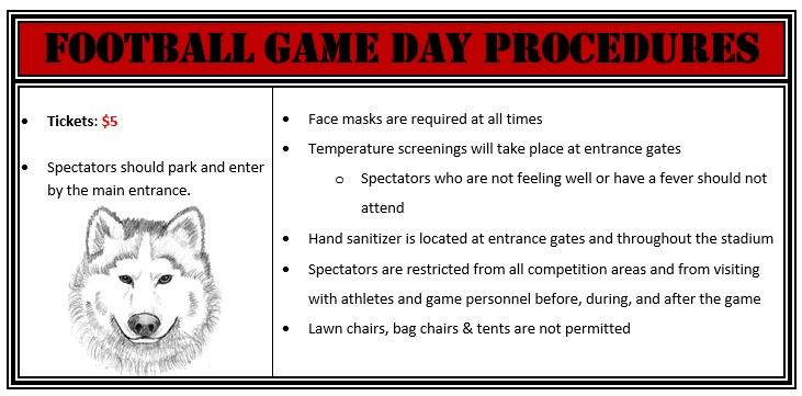 Football Game Day Procedures