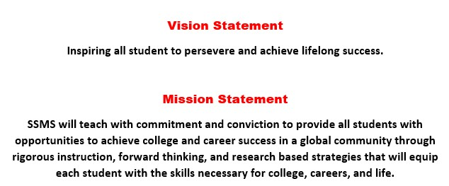 Description of Vision and Mission Statment for SSMS