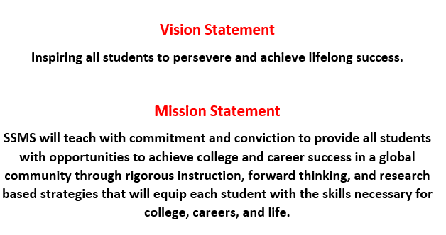 SSMS Vision & Mission Statement