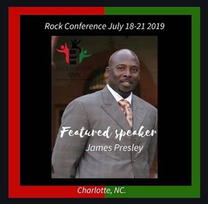Principal Presley Speaking at ROCK Conference