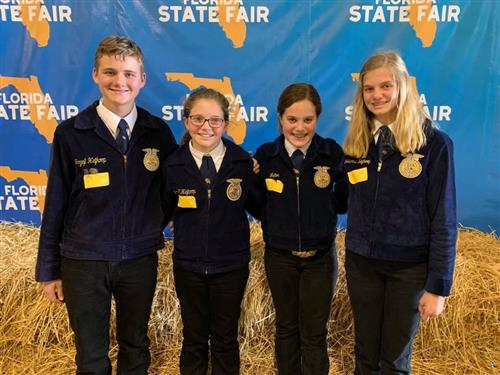 SSMS State FFA Dairy Judging Champs