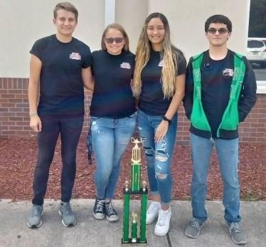 SSHS team won 1st place at LSSC Mathlympics!