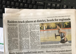 Sumter County Times Article