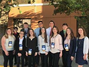 State Science Fair Team