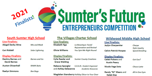 Entrepreneurs Contest Finalists