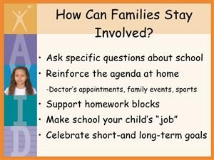 How Can Families Stay Involved?