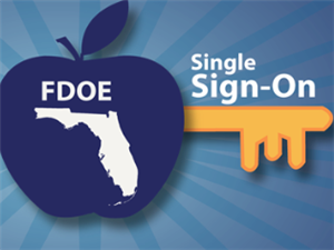 Florida DOE Single Sign On Logo