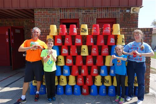 Speed Stacks Hearts Jump Rope for Heart and so does the Atherton Family