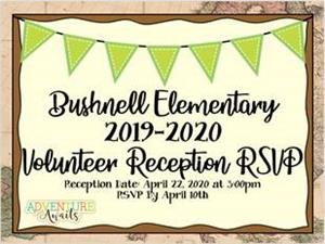 Volunteer Reception