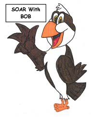 LPE Mascot Bob the Osprey